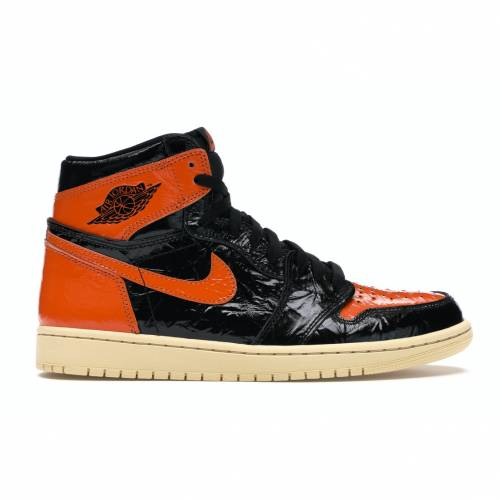ナイキ ジョーダン JORDAN ハイ 3.0 スニーカー 【 1 RETRO HIGH SHATTERED BACKBOARD BLACK PALE VANILLASTARFISH 】 メンズ