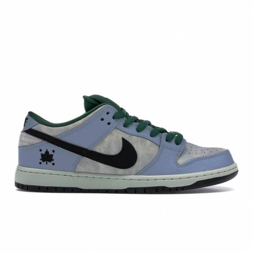 ナイキ NIKE ダンク エスビー スニーカー 【 SB DUNK LOW MAPLE LEAF CENTRAL PARK DOVE GREY BLACKGORGE GREEN 】 メンズ