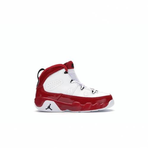 ナイキ ジョーダン JORDAN 白 ホワイト 赤 レッド 赤ちゃん 【 WHITE RED 9 RETRO GYM BABY BLACKGYM 】 キッズ ベビー マタニティ ベビー服 ファッション