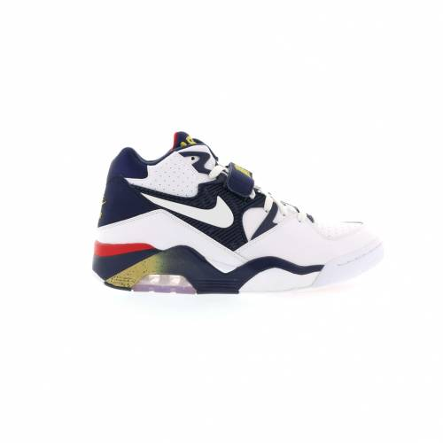 ナイキ NIKE エア スニーカー 【 AIR FORCE 180 OLYMPIC 2016 WHITE MIDNIGHT NAVYMETALLIC GOLDVARSITY RED 】 メンズ