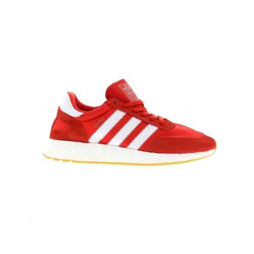 アディダス ADIDAS 赤 レッド スニーカー 【 RED INIKI RUNNER WHITE RUNNING 】 メンズ
