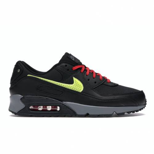 ナイキ NIKE エア マックス シティ スニーカー 【 AIR MAX 90 CITY PACK NYC 2020 BLACK SMOKE GREYUNIVERSITY REDSPEED YELLOW 】 メンズ
