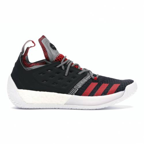 アディダス ADIDAS ハーデン VOL. スニーカー 【 HARDEN 2 LIFT OFF CORE BLACK SCARLET GREY 】 メンズ