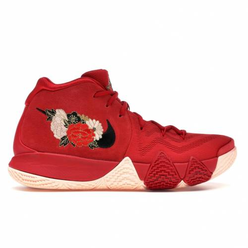 ナイキ NIKE カイリー スニーカー 【 KYRIE 4 CHINESE NEW YEAR 2018 UNIVERSITY RED BLACKTEAM 】 メンズ
