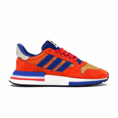アディダス ADIDAS ドラゴン スニーカー 【 ZX 500 DRAGON BALL Z SON GOKU ORANGE COLLEGIATE ROYAL HIRES RED 】 メンズ