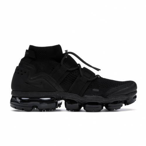 ナイキ NIKE エア スニーカー 【 AIR VAPORMAX UTILITY TRIPLE BLACK BLACKBLACK 】 メンズ