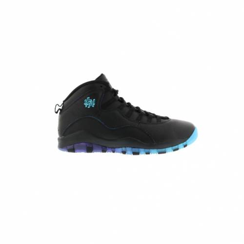 ナイキ ジョーダン JORDAN スニーカー 【 10 RETRO SHANGHAI BLACK FIERCE PURPLEGAMMA BLUE 】 メンズ