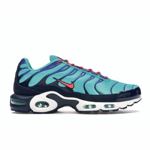 ナイキ NIKE エア マックス スニーカー 【 AIR MAX PLUS DISCOVER YOUR HYPER JADE FLASH CRIMSONOBSIDIAN 】 メンズ