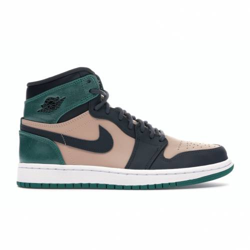 ナイキ ジョーダン JORDAN ハイ 緑 グリーン レディース スニーカー 【 GREEN 1 RETRO HIGH BIO BEIGE ANTHRACITE MYSTIC WOMENS ANTHRACITEMYSTIC 】