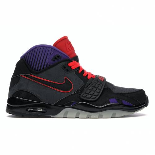 ナイキ NIKE エア トレーナー スニーカー 【 AIR TRAINER 2 MEGATRON ANTHRCT BLACKCHLLNG REDCRT PURPLE 】 メンズ