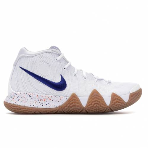 ナイキ NIKE カイリー スニーカー 【 KYRIE 4 UNCLE DREW WHITE WHITEWHITEGUM LIGHT BROWN 】 メンズ