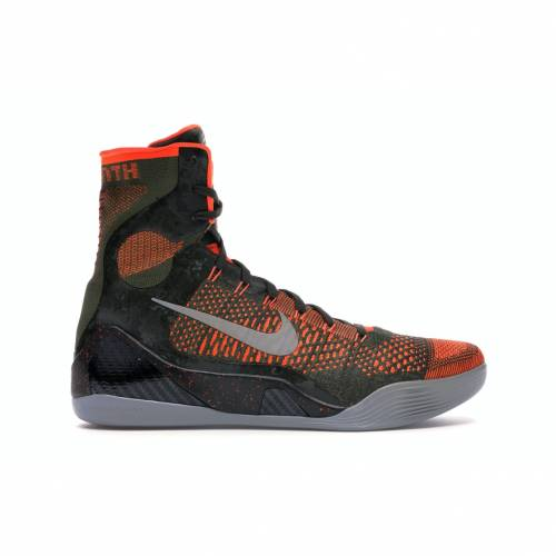 ナイキ NIKE コービー エリート スニーカー 【 KOBE 9 ELITE SEQUOIA ROUGH GREENHYPER CRIMSONREFLECT SILVER 】 メンズ