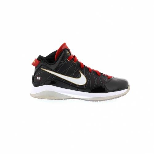 ナイキ NIKE レブロン P.S. スニーカー 【 LEBRON 7 PS BRED BLACK WHITESPORT REDMETALLIC 】 メンズ