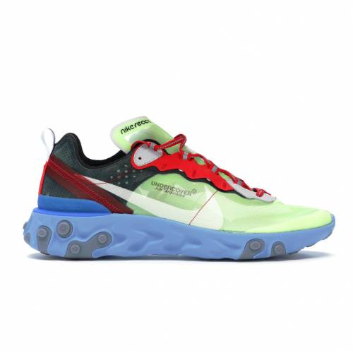 ナイキ NIKE エレメント スニーカー 【 REACT ELEMENT 87 UNDERCOVER VOLT UNIVERSITY REDBLACKWHITE 】 メンズ