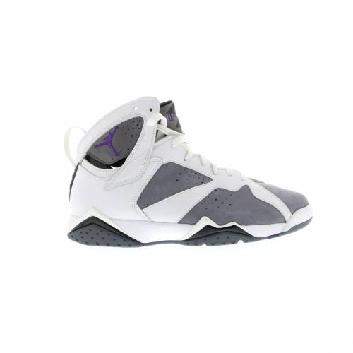 ナイキ ジョーダン JORDAN スニーカー 【 7 RETRO FLINT WHITE VARSITY PURPLEFLINT GREY 】 メンズ