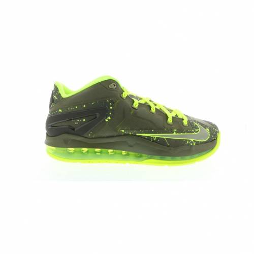 ナイキ NIKE レブロン スニーカー 【 LEBRON 11 LOW DUNKMAN MEDIUM KHAKI VOLTOLIVE 】 メンズ