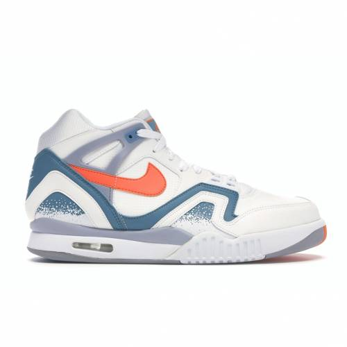 ナイキ NIKE エア テック 青 ブルー スニーカー 【 AIR BLUE TECH CHALLENGE II CLAY 2014 WHITE ORANGE BURSTCLAY BLUEFLAT SILVER 】 メンズ