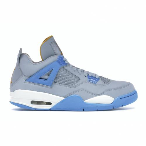 ナイキ ジョーダン JORDAN スニーカー 【 4 RETRO MIST BLUE UNIVERSITY BLUEGOLD LEAFWHITE 】 メンズ