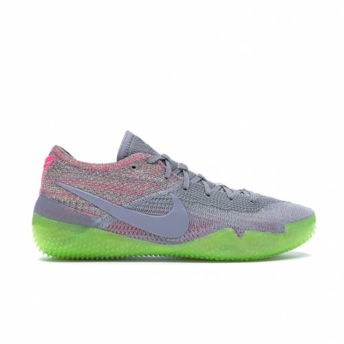 ナイキ NIKE コービー スニーカー 【 KOBE NXT 360 MULTICOLOR WOLF GREY ELECTRIC GREEN 】 メンズ