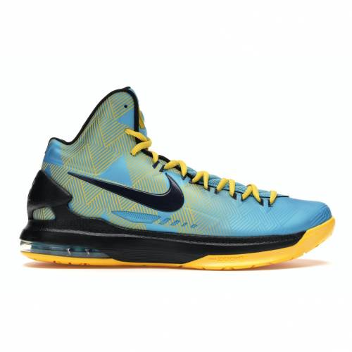 ナイキ NIKE スニーカー 【 KD 5 N7 DARK TURQUOISE BLACKENED BLUEBLACKVARSITY MAIZE 】 メンズ