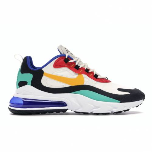 ナイキ NIKE エア マックス スニーカー 【 AIR MAX 270 REACT BAUHAUS PHANTOM UNIVERSITY GOLDUNIVERSITY REDBLACKKINETIC GREENHYPER ROYAL 】 メンズ