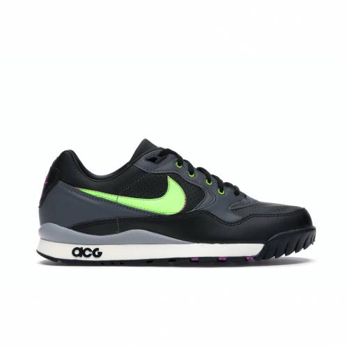 ナイキ NIKE エア 黒 ブラック スニーカー 【 AIR BLACK WILDWOOD ACG ELECTRIC GREEN HYPER VIOLETDARK GREYELECTRIC 】 メンズ