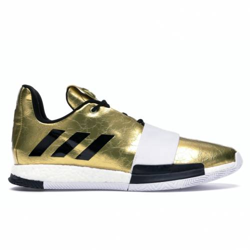 アディダス ADIDAS ハーデン VOL. スニーカー 【 HARDEN 3 IMMA STAR GOLD METALLIC FOOTWEAR WHITE CORE BLACK 】 メンズ