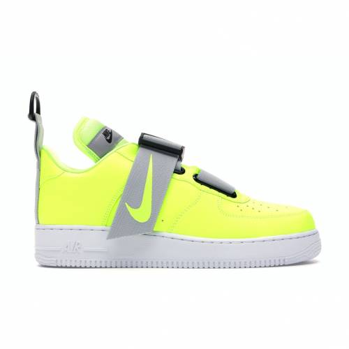 ナイキ NIKE エア スニーカー 【 AIR FORCE 1 UTILITY VOLT WHITEBLACK 】 メンズ