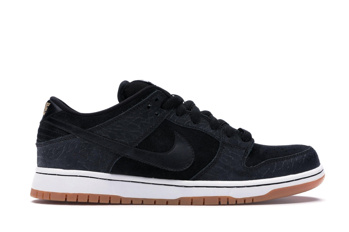 ナイキ NIKE ダンク エスビー スニーカー 【 SB DUNK LOW NONTOURAGE BLACK BLACKWHITEGUM MED BROWN 】 メンズ