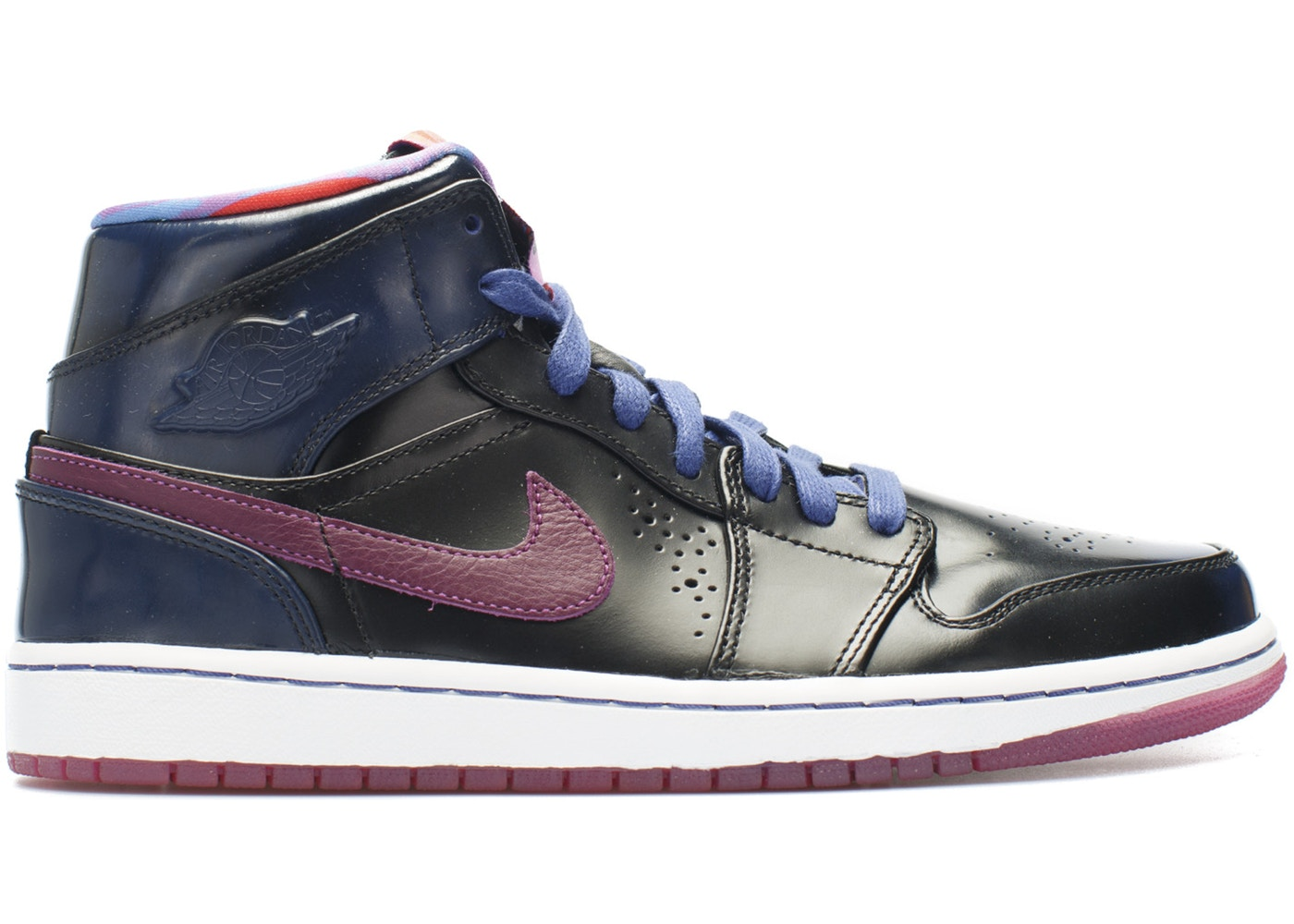 ナイキ ジョーダン JORDAN ミッド スニーカー 【 1 MID NOUVEAU YEAR OF THE HORSE DEEP ROYAL BLUE RED VOLTBLACKWHITE 】 メンズ