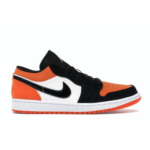 ナイキ ジョーダン JORDAN スニーカー 【 1 LOW SHATTERED BACKBOARD BLACK WHITESTARFISH 】 メンズ