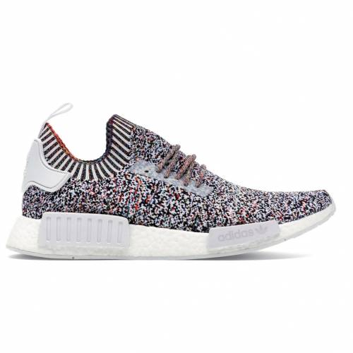 アディダス ADIDAS スニーカー 【 NMD R1 COLOUR STATIC RAINBOW CORE WHITE MULTICOLOR 】 メンズ