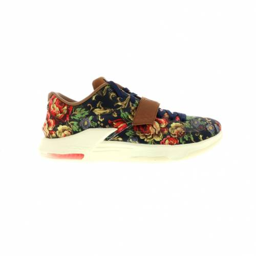 ナイキ NIKE スニーカー 【 KD 7 EXT FLORAL MIDNIGHT NAVY BLACKHAZELNUT 】 メンズ