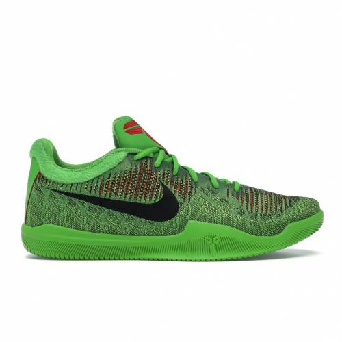 ナイキ NIKE スニーカー 【 MAMBA RAGE GRINCH ELECTRIC GREEN BLACKGREEN APPLEVOLTUNIVERSITY RED 】 メンズ