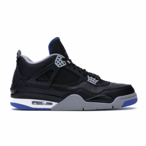 ナイキ ジョーダン JORDAN スニーカー 【 4 RETRO MOTORSPORTS ALTERNATE BLACK GAME ROYALMATTE SILVERWHITE 】 メンズ