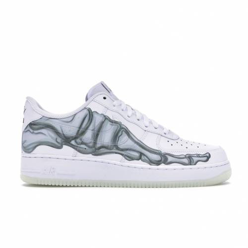 ナイキ NIKE エア スニーカー 【 AIR FORCE 1 LOW SKELETON HALLOWEEN 2018 WHITE WHITEWHITE 】 メンズ