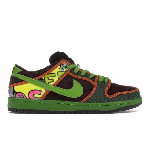 ナイキ NIKE ダンク エスビー スニーカー 【 SB DUNK LOW DE LA SOUL 2015 SAFARI BAROQUE BROWNALTITUDE GREEN 】 メンズ