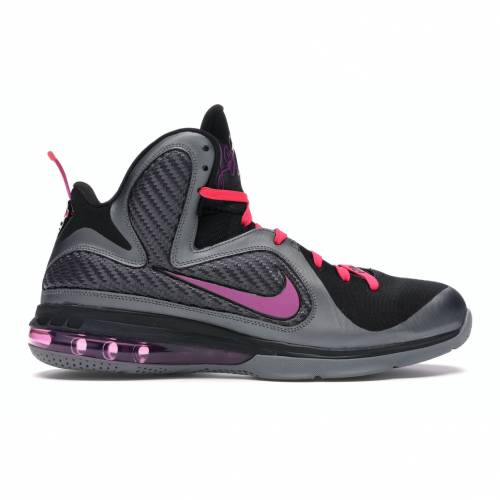 ナイキ NIKE レブロン マイアミ スニーカー 【 LEBRON 9 MIAMI NIGHTS COOL GREY VIVID GRAPEBLACKCHERRY 】 メンズ