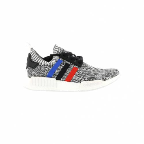 アディダス ADIDAS スニーカー 【 NMD R1 TRI COLOR STRIPES WHITE CORE BLACK 】 メンズ