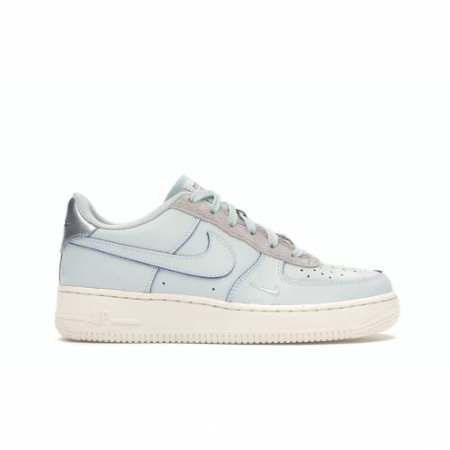 ナイキ NIKE エア ジュニア キッズ スニーカー 【 AIR FORCE 1 LOW DEVIN BOOKER GS BARELY GREY MOON PARTICLEPALE IVORY 】 メンズ