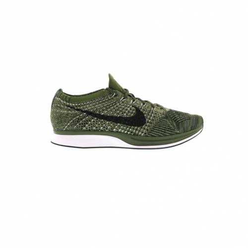 ナイキ NIKE フライニット スニーカー 【 FLYKNIT RACER ROUGH GREEN NEUTRAL OLIVESEQUOIABLACK 】 メンズ