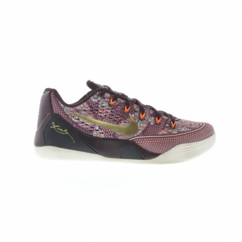 ナイキ NIKE コービー スニーカー 【 KOBE 9 EM LOW SILK MERLOT METALLIC GOLDTOTAL ORANGE 】 メンズ