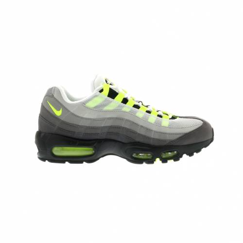 ナイキ NIKE エア マックス スニーカー 【 AIR MAX 95 OG NEON 2015 BLACK VOLTMEDIUM ASHDARK PEWTER 】 メンズ