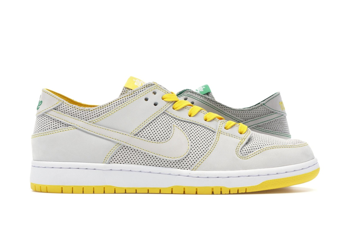 ナイキ NIKE エスビー ダンク スニーカー 【 SB DUNK LOW DECON ISHOD WAIR MISMATCH WHITE WHITEALOE VERDETOUR YELLOW 】 メンズ