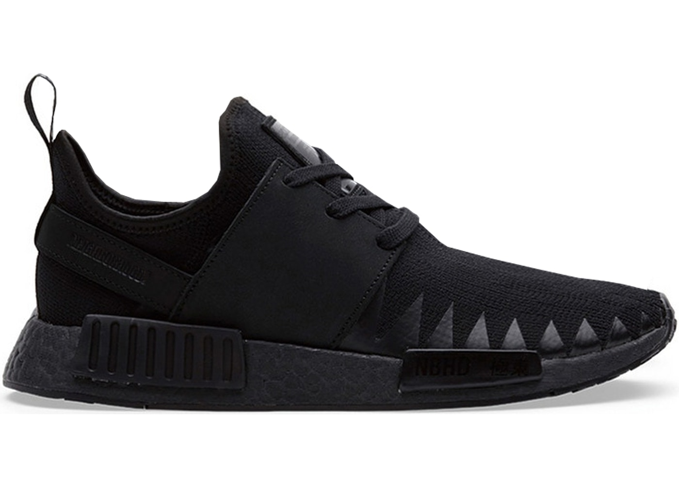 アディダス ADIDAS スニーカー 【 NMD R1 NEIGHBORHOOD TRIPLE BLACK CORE 】 メンズ