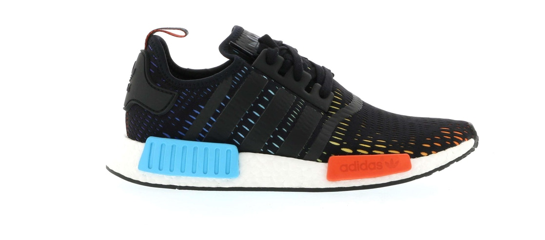 アディダス ADIDAS スニーカー 【 NMD R1 FOOTLOCKER EUROPE RAINBOW BLACK MULTICOLOR 】 メンズ 送料無料