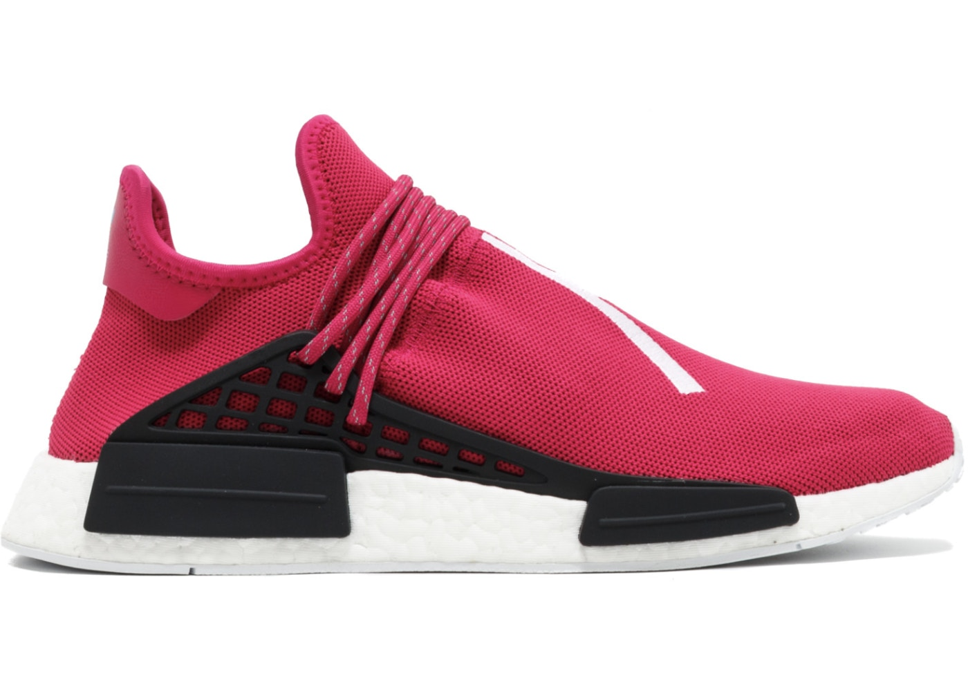 アディダス ADIDAS スニーカー 【 NMD HU PHARRELL FRIENDS AND FAMILY PINK SHOCK CORE BLACK 】 メンズ