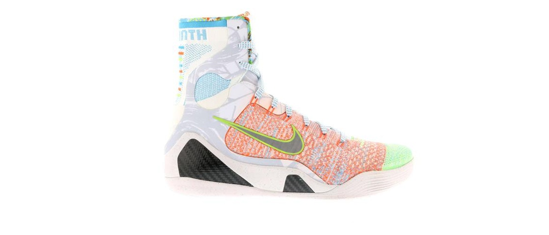 ナイキ NIKE コービー エリート スニーカー 【 KOBE 9 ELITE WHAT THE MULTICOLOR REFLECT SILVERCHLORINE BLUE 】 メンズ 送料無料