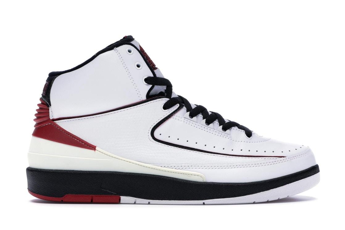 ナイキ ジョーダン JORDAN 白 ホワイト 赤 レッド スニーカー 【 WHITE RED 2 RETRO VARSITY 2004 REDBLACK 】 メンズ