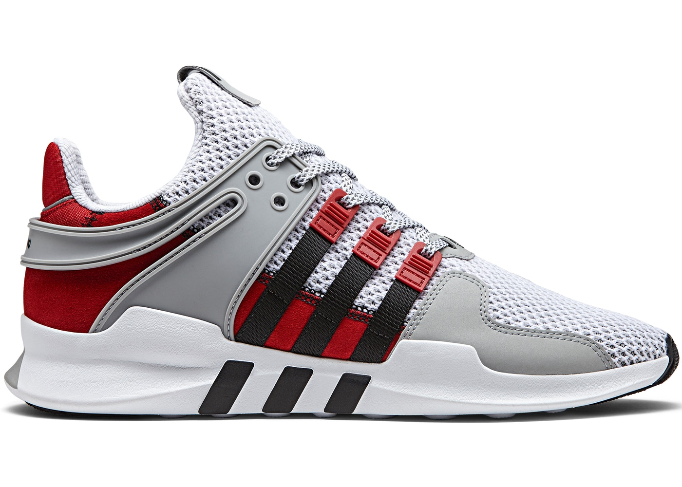 アディダス ADIDAS スニーカー 【 EQT SUPPORT ADV OVERKILL COAT OF ARMS GREY BLACK RED 】 メンズ